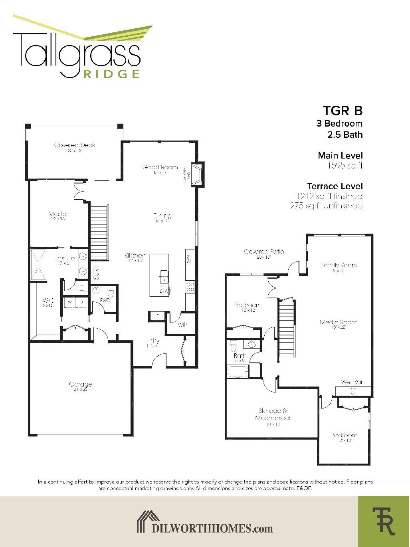 Tallgrass Ridge Floor Plan B