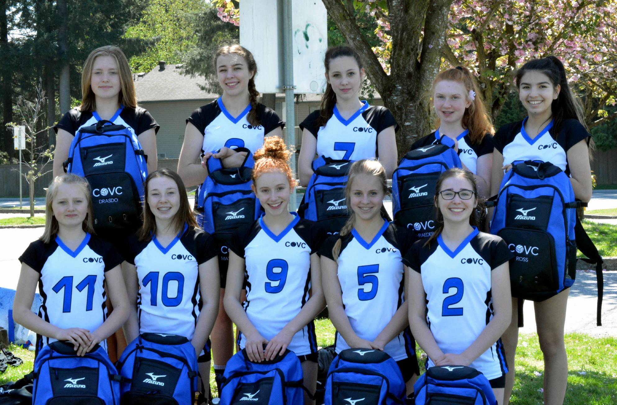 COVC Storm U14 Club Volleyball Team