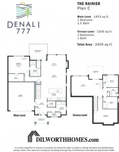 Denali, Dilworth Mountain Homes