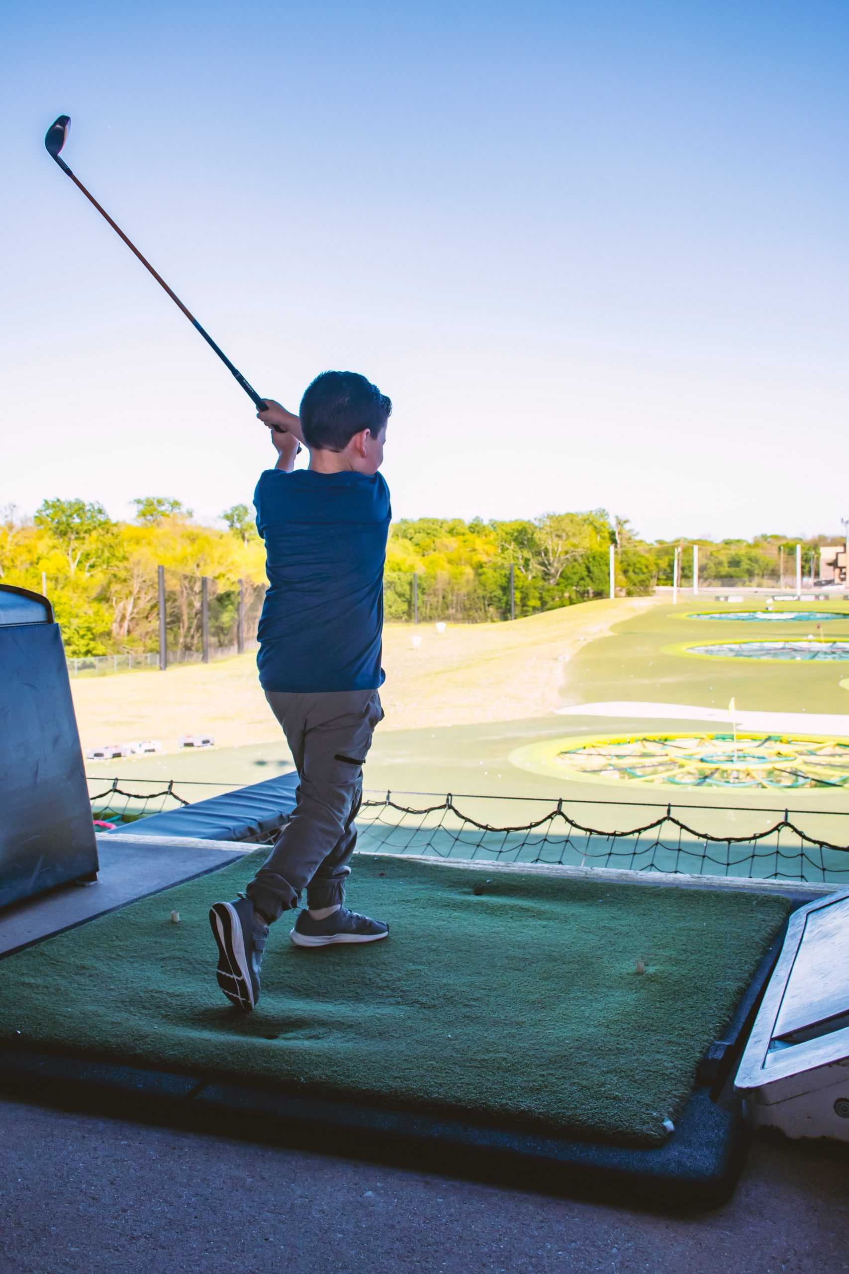 mini golf, okanagan summer